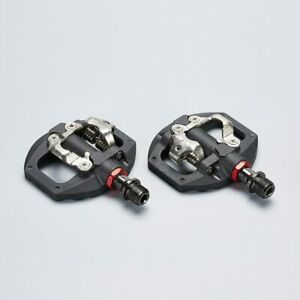 Mountain Bike Clipless Pedals SPD Compatible MTB Bicycle Aluminum Alloy Self-loc