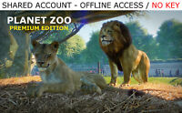 Planet Zoo Premium Edition PC [ALL DLC] Steam OFFLINE - READ DESCRIPTION