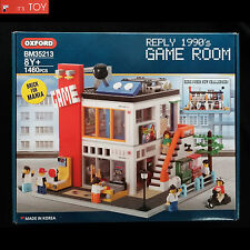Oxford Block GAME ROOM BM35213 REPLY 1990'S Brick for Mania Korean Building Toy