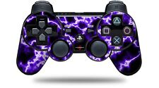 Skin for PS3 Controller Electrify Purple CONTROLLER NOT INCLUDED