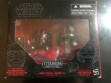 Tie Fighter Pilot Poe Dameron Helmets Star Wars Black Series Titanium Series