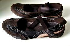 La Gear Mary Jane Wave Bikes Brown Shoes Women's Size 9 1/2