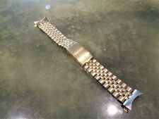 Vintage Ultra Rare Longines JB Champion 1/10 14K GF 17mm Watch Band Beads Rice
