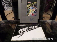 Skate Or Die w/ Instruction Manual (Nintendo NES Game)