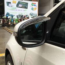 Brown Car Vehicle Rear View Sun Rain Board Flashing Visor Ward Guard Accessories