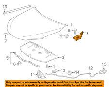 TOYOTA OEM 15-16 Camry Hood-Lock Latch 5351006290