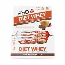 PhD Nutrition Diet Whey Bar Chocolate Peanut - 12 pack