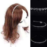 Hair band Crystal Headband Hairband Rhinestone Fine Hair Hoop Accessory TO