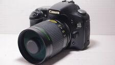 LENTE 500 MM = 750 mm su Canon Digital 500D per la fotografia della fauna selvatica 1200D 5D 6D EOS