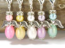 10 DIY Ostern Bastelidee Engel Anhänger Schutzengel Perlenengel Engelcharm bunt