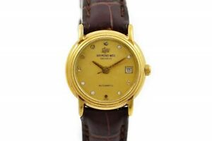 Vintage Raymond Weil Geneve 2611 Gold Plated Automatic Ladies Watch 1838