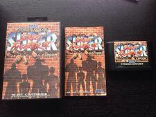 SUPER STREET FIGHTER II 2 - COMPLETE - SEGA MEGA DRIVE