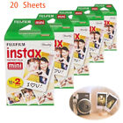 Fujifilm Instax Mini Instant White Film 20pcs For Fuji 8 25 50s 70 90 7s Camera