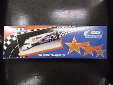 Ken Schrader AC DELCO  ERTL 1994 NASCAR Transporter 1/64 White Rose