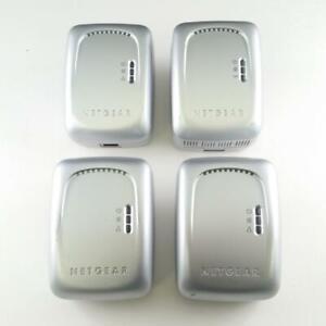 Netgear WGX102 Bridge & 3x XE102 Wall-Plugged Ethernet Powerline Adapters