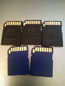 SD Card Bundle 5 x 1gb