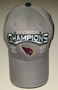 Reebok Arizona Cardinals 2009 NFC Divison Champions Back To Back Brand New
