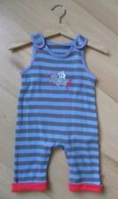 MOTHERCARE Baby Boys Clothes 0-3 Months Cotton Stripe Sleeveless Romper Playsuit