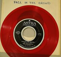MONORAYS: Face In The Crowd b/w Step Right Up Astra A-1018 Red vinyl - Mad Mike