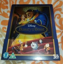 BEAUTY AND THE BEAST STEELBOOK [OOP/NEW/3D+2D] [2014 First Release UK Import NEW