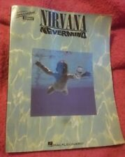 Nirvana - Nevermind Transcribed Score Book Guitar