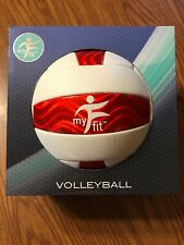 My Fitness Volleyball Red And White New