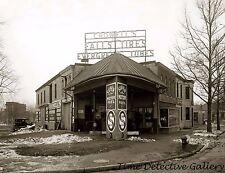 "Crowell's Garage ""Super"" Brand Gas Station, Wash, D.C. 1921 Historic Photo Print"