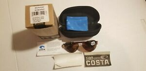 Costa Del Mar South Point 580G Copper Sunglasses Shiny Blush Gold- Rose Tortoise