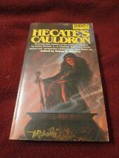 Hecate's Cauldron ed. Susan Shwartz (1982, pb) SIGNED x3 Michael Whelan J Lorrah