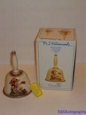 Vtg 1979 Mi Hummel 2nd Edition Annual Bell Bas-Relief Hum 701 W Germany Goebel