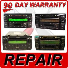REPAIR TOYOTA Camry Corolla 6 CD Disc Changer Radio FIX A56820 A56822 A56841