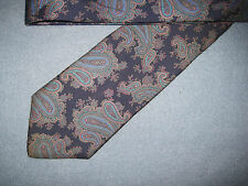56 x 3.5 Blue SILK Tie Necktie Oakton Ltd FREE US SHIP (10146)