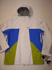 SPECIAL BLEND Men's P4 CONTROL SNOW JACKET - WHT - M - NWT