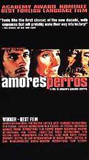Amores Perros English subtitles Cannes Film Festival Winner 2000 Rare Vhs