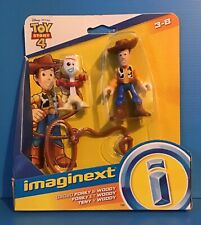 Imaginext Toy Story -WOODY AND SPORKY FIGURES BRAND NEW* UK SELLER