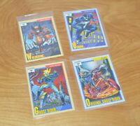 Vintage MARVEL COMICS CARDS LOT 1991 Impel Wolverine Ghost Rider Venom