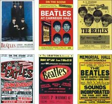 The Beatles Concert Posters POSTCARD Set