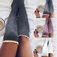 Fashion Hot Women Winter Knit Over Long Boot Thigh-High Warm Leggings Stocking