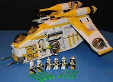 LEGO® STAR WARS™ 75021 Custom PHASE I 327th Star Corps REPUBLIC GUNSHIP + Crew!