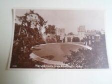 WARWICK CASTLE FROM ETHELFLEDA'S MOUNT Photographed+Published J Salmon  §B1311