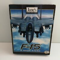 Jane's F-15 Combat Simulator - Vintage PC Game - Big Boxed - Windows 95 (043)