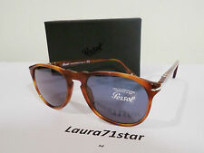 Persol 9649/S 55-18 Terra di Siena 96/56 Crystal Blu occhiali sole sunglasses
