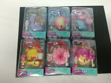 6x LOT Complete Shopkins Lil Secrets Keychains Series 3 Mini Doll Locket Bag