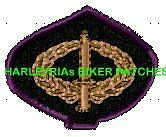 INFANTRY COMBAT BADGE - EMBROIDERED BIKER PATCH