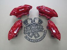 2010-2015 CAMARO SS BREMBO brake calipers 4-pc OEM powdercoat ALL color EXCHANGE
