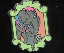 WDW 2012 Hidden Mickey Series Dumbo Mrs. Jumbo Disney Pin 91246