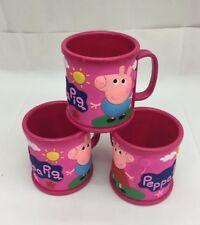 ♛ Shop8 : 12 pc PEPPA PIG Drinking Mug Plastic Gift Ideas Giveaways