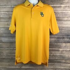 Baylor Bears Ping Golf Shirt Gold Size medium Big 12