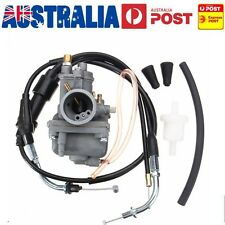For YAMAHA CARBURETOR CARBY + THROTTLE CABLE PW80 Y-ZINGER DIRT BIKE 1983-2006