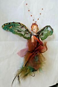 Vintage estate  Fairy Girl Ornament
